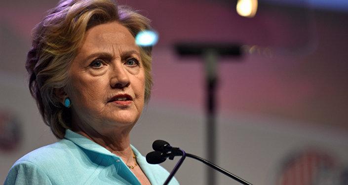 La candidate démocrate à l'élection présidentielle aux Etats-Unis, Hillary Clinton