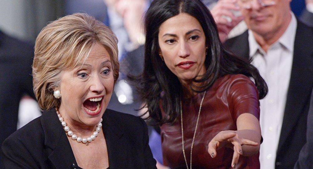 Hillary Clinton et Huma Abedin