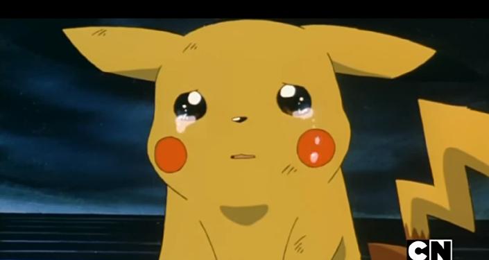 Pokémon pleure