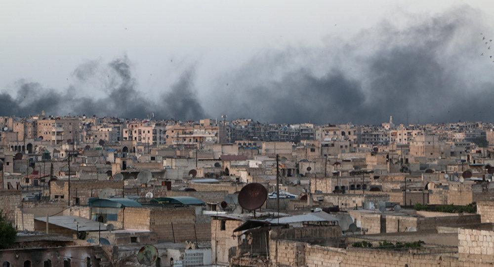 Syrie, la ville d'Alep