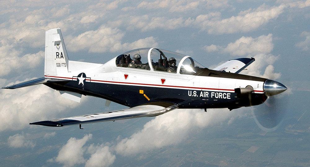 Un T6-C Texan II