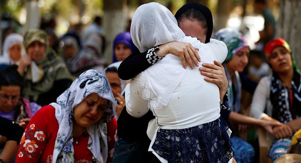 L'attentat de Gaziantep