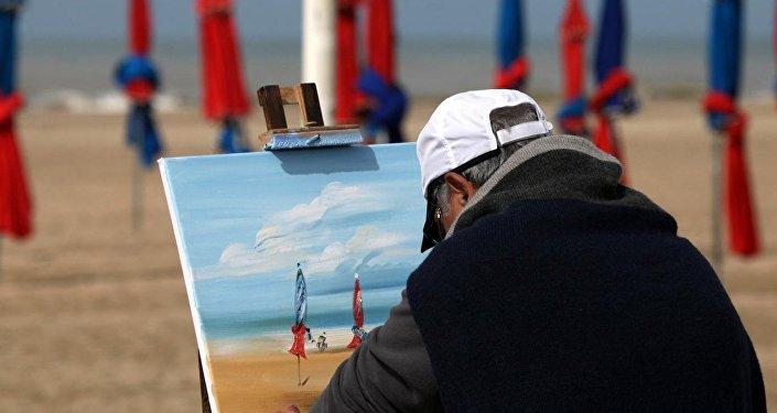 un peintre