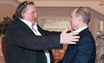 Depardieu et Poutine se sont rencontrés à Sotchi