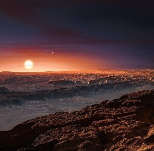 La planète orbitant Proxima Centauri