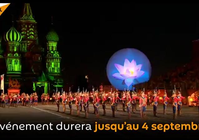 Le Festival international de musique militaire Tour Spasskaïa