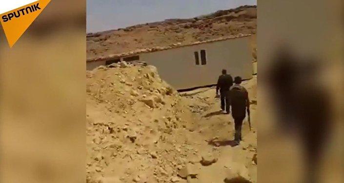 Le camp secret des terroristes dévoilé