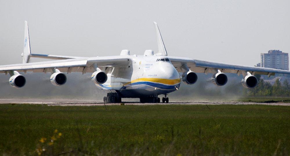 Le cargo An-225 Mriya