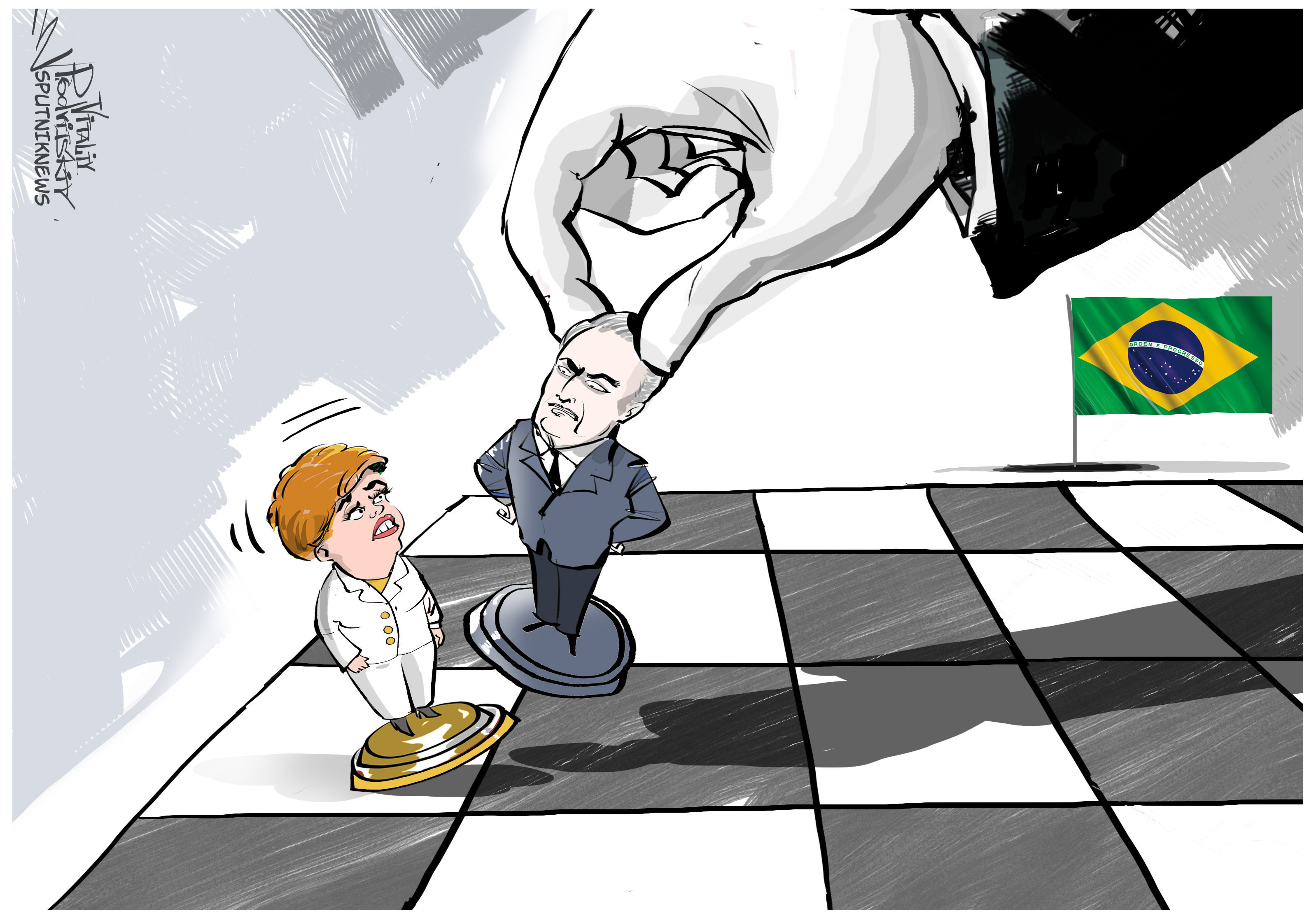 Destitution de Rousseff