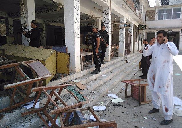 Attentat suicide contre un tribunal au Pakistan