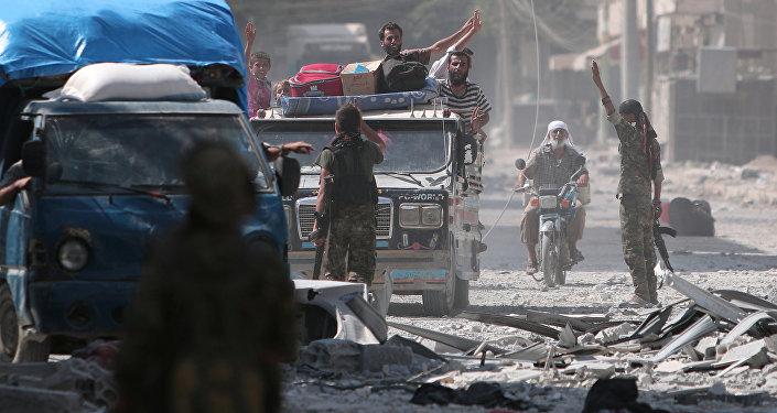 Situation en Syrie. Image d'illustration