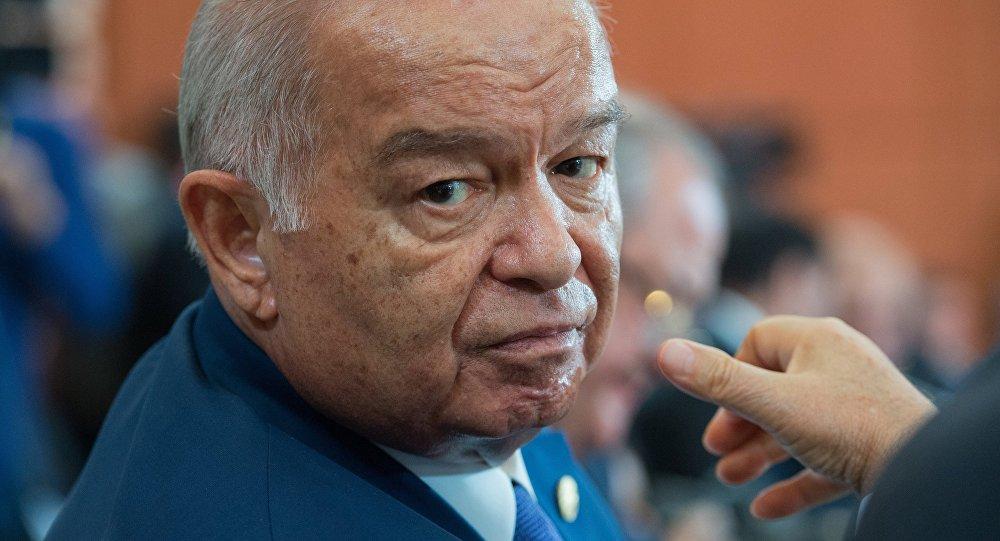 Le président ouzbek Islam Karimov