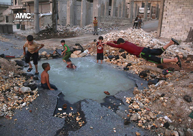 Des enfants en Syrie