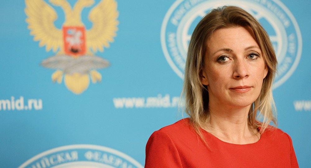 La porte-parole officielle du ministère des Affaires étrangères Maria Zakharova