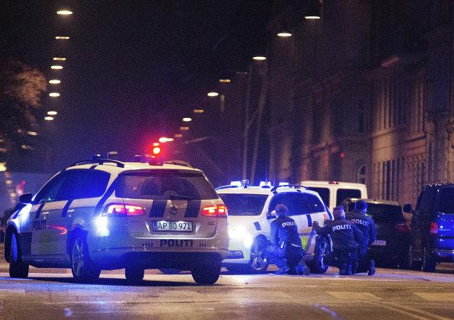 Police à Copenhague