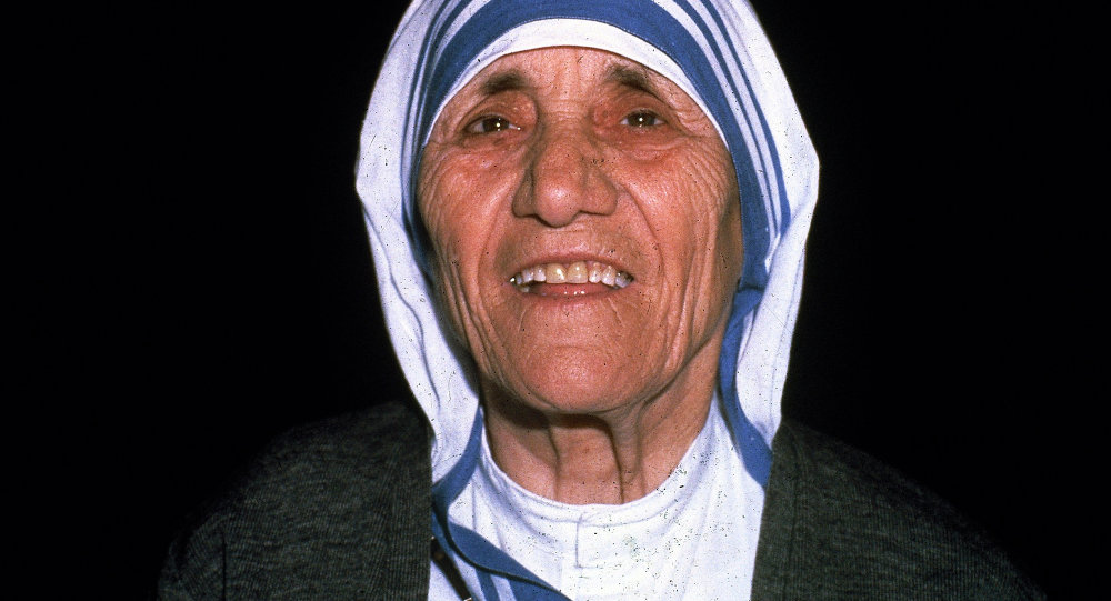 Catholic missionary worker Mother Teresa is seen in Calcutta, India, 1979