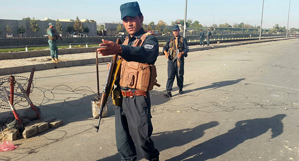 Policier afghan