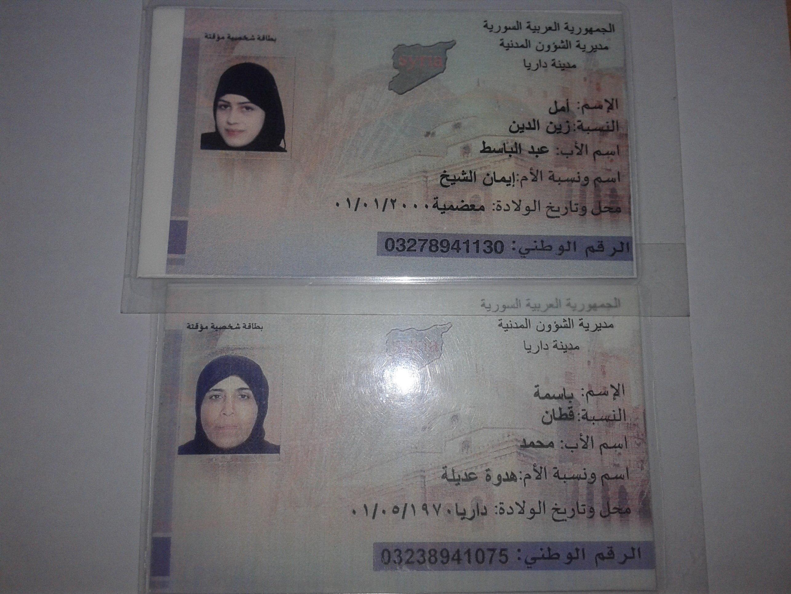 Des passeports conçus pas les militants anti-Assad