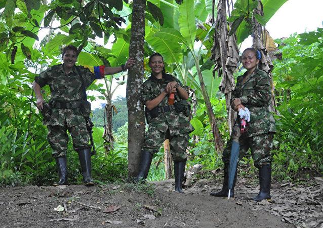 Les partisanes des FARC