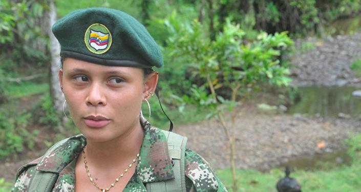 Valentina, partisane des FARC