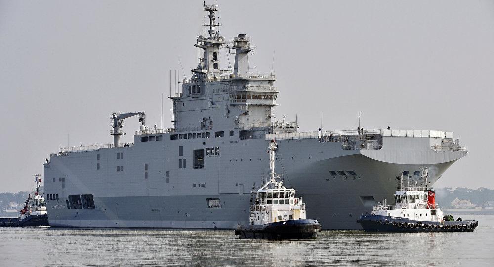 Le deuxième Mistral rejoint son port d'attache en Égypte