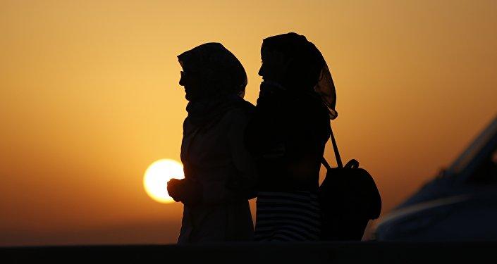 Des femmes portant le hijab