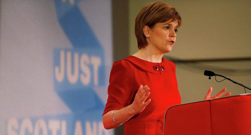 La première ministre écossaise et chef du Parti national écossais (SNP) Nicola Sturgeon