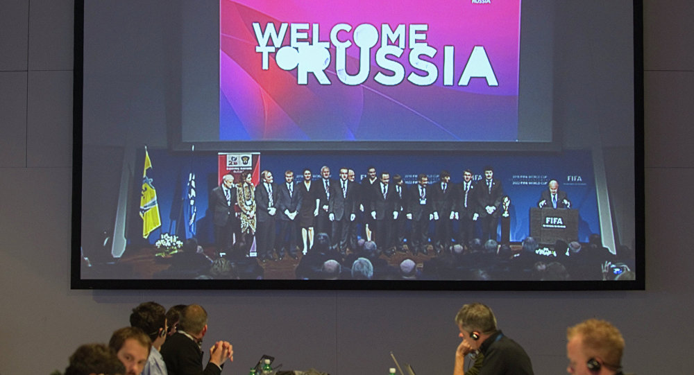Election du pays hôte du Mondial 2018 à Zurich