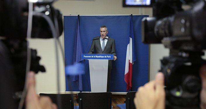 Le Procureur de Paris Francois Molins