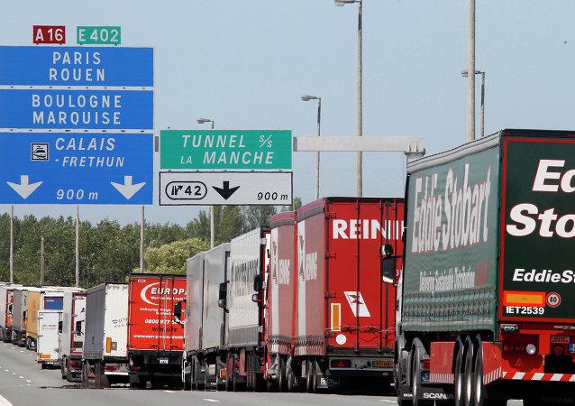 Les véhicules à Calais