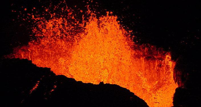 Volcan, Image d'illustration