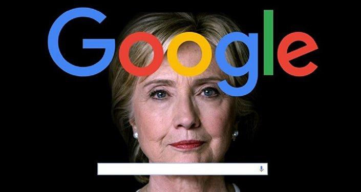 Danald Trump accuse Google d'être de mèche avec Hillary Clinton