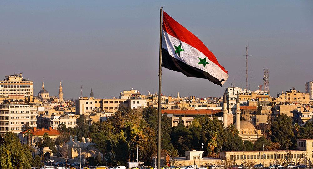 Le drapeau de Syrie
