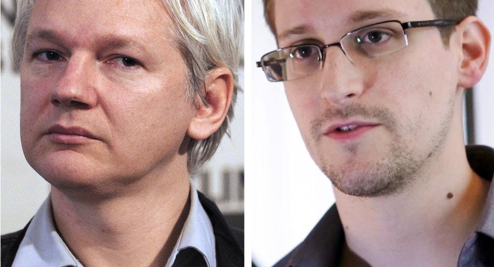 Assange et Snowden