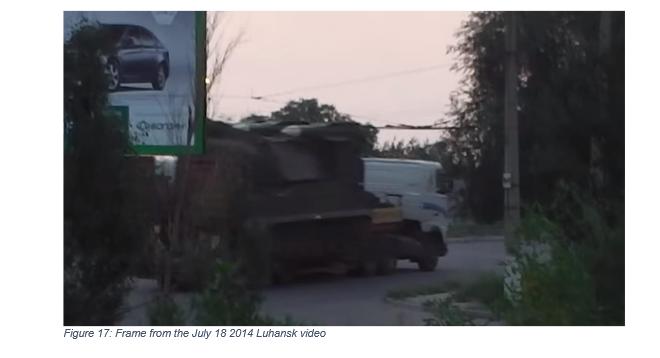Lougansk, le 18 juillet 2014