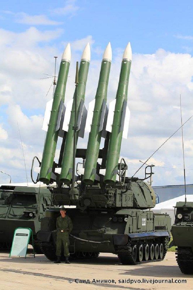 L'image d'un système sol-air Bouk utilisé par Bellingcat