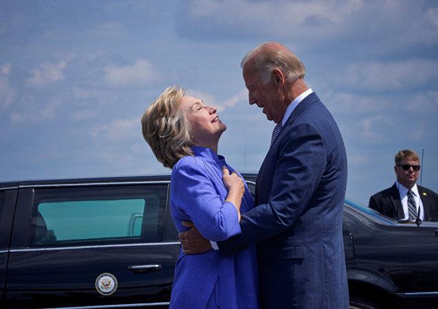 Hillary Clinton et Joe Biden