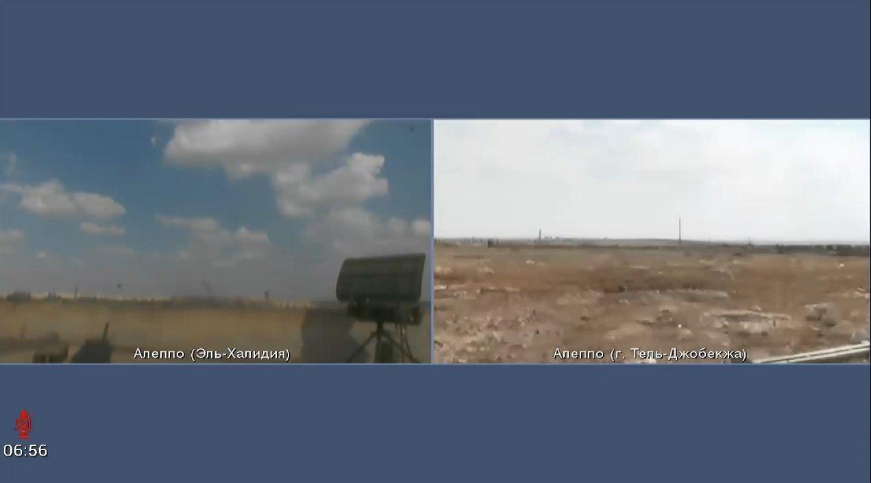 Vidéo-surveillance depuis deux caméras installées sur le terrain dans les régions d'Al-Khalidiya et de Tel-Djobekja