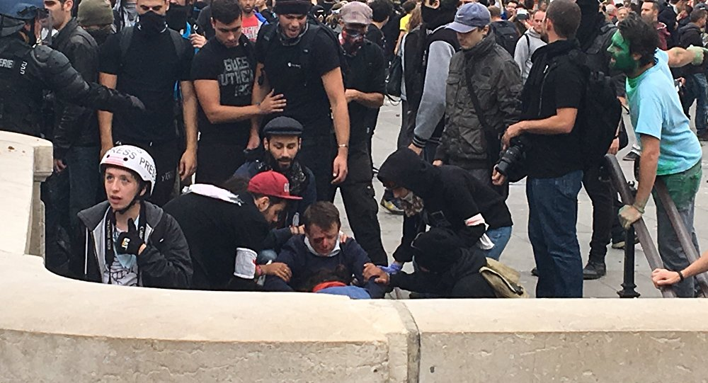 Manifestations, Paris