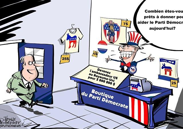 Le parti d'Obama a offert des postes au gouvernement contre une donation