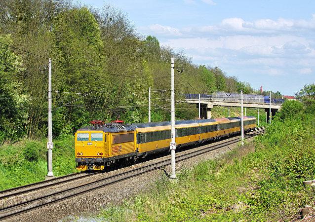 Un train RegioJet
