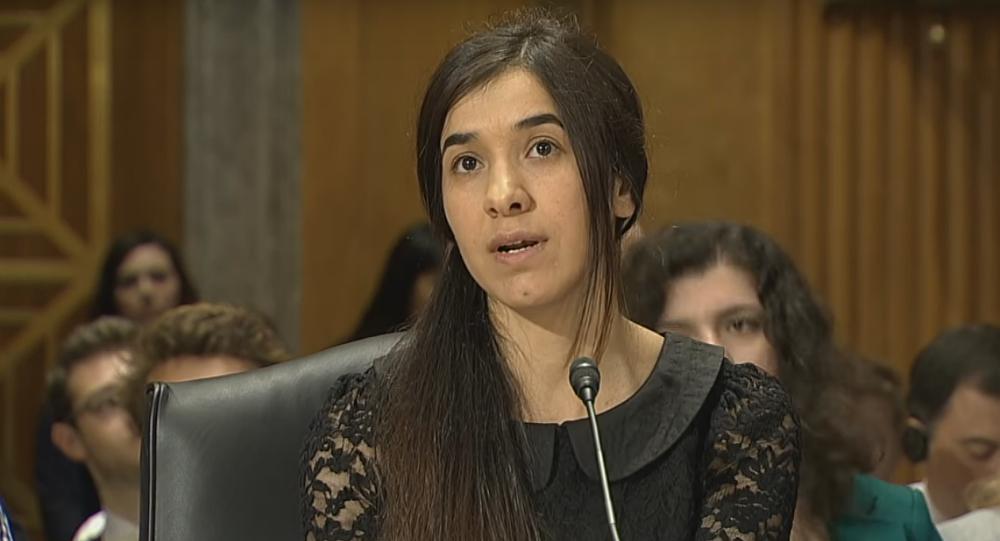 «Et vous avez eu le prix Nobel? C'est incroyable»: la question de Trump à une rescapée yazidie a outré