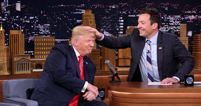 .Donald Trump et Jimmy Fallon