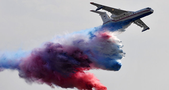 Crash d'un Canadair — Incendies au Portugal