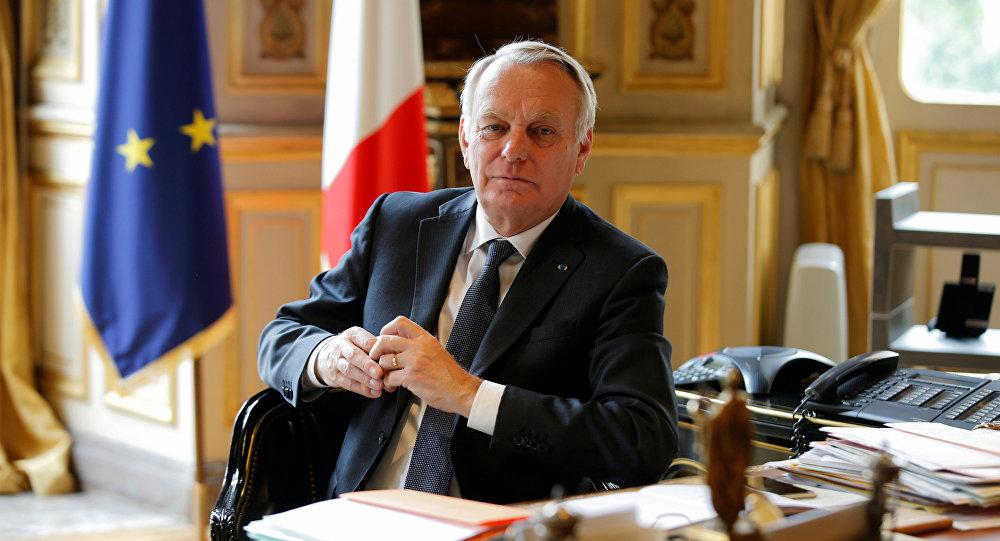 Le ministre français des Affaires étrangères Jean-Marc Ayrault