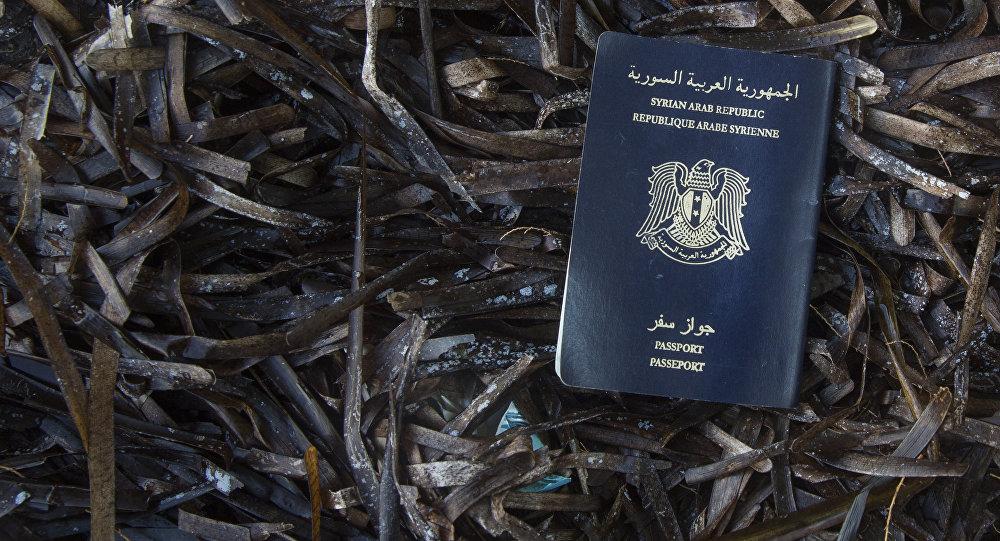 Passeport syrien