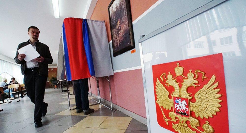 Désolé, Porochenko! Les bureaux de vote ouvrent en Crimée