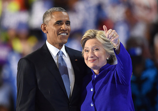 Obama et Clinton