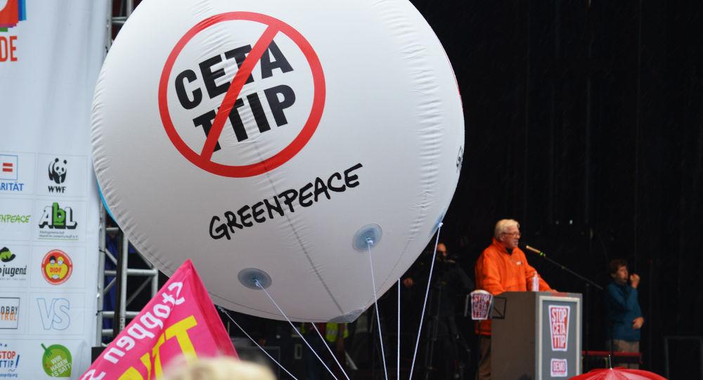 Les protestes contre TTIP et CETA à Berlin