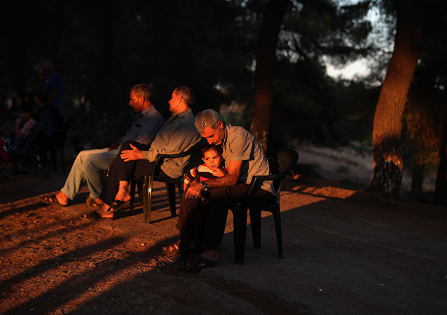Camp de réfugiés grec